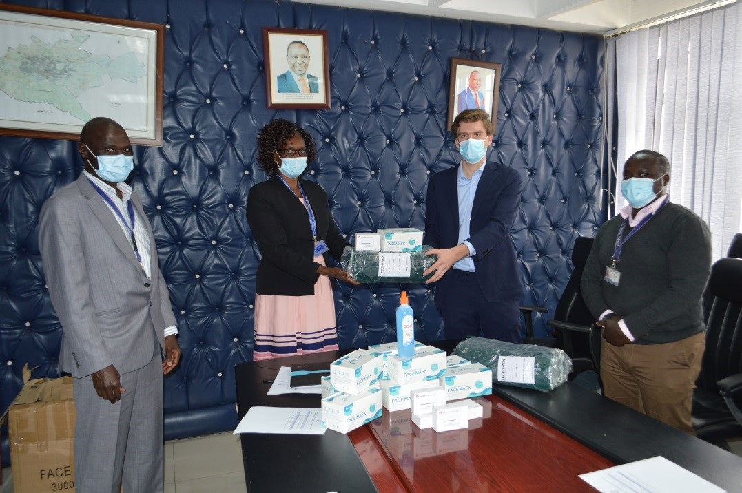 Donation of Covid-19 facemasks