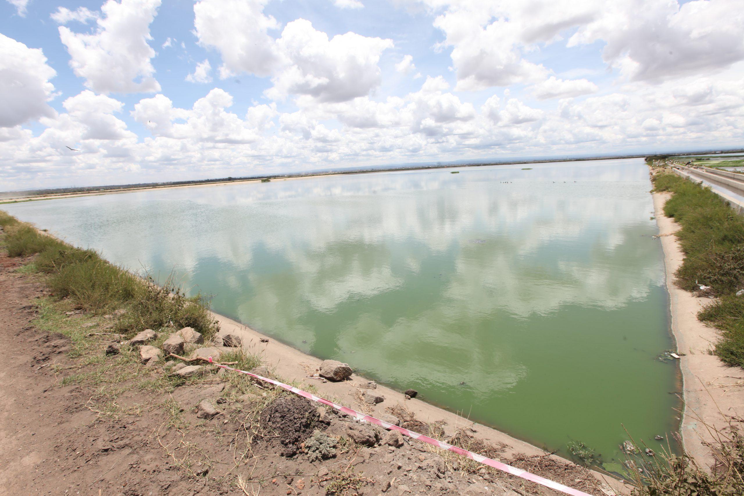 Dandora Treatment Plant - Ruai Pond