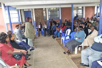 Board tours kariobangi sewerage treatment works