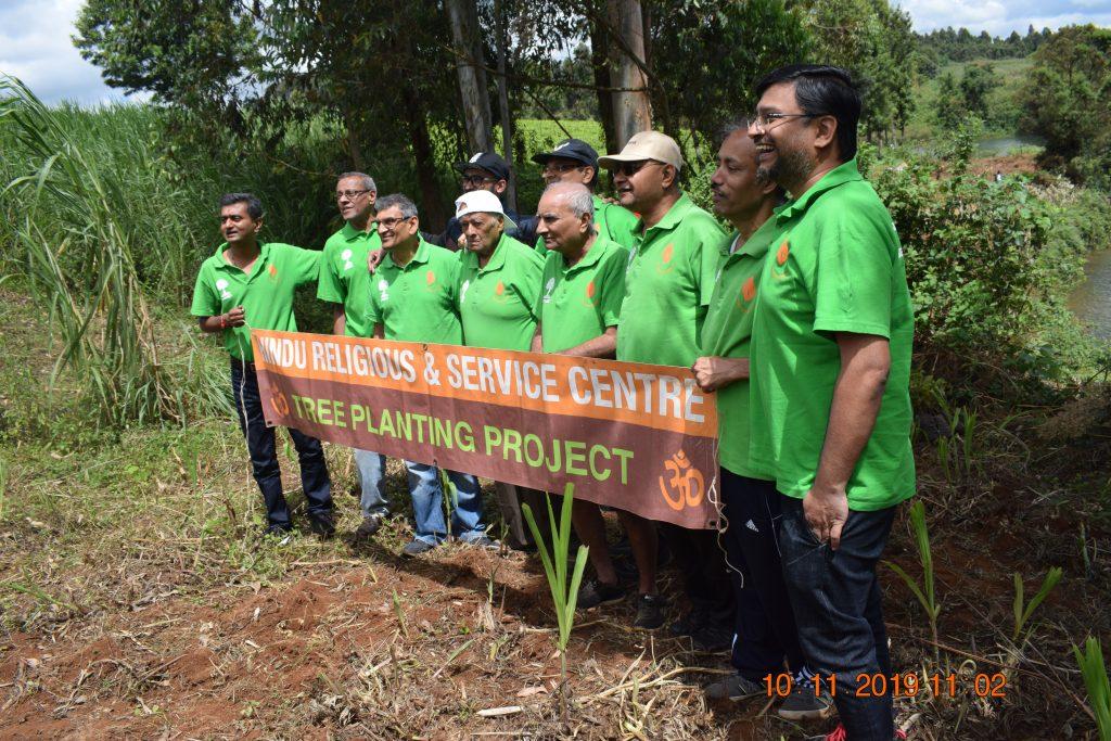 Nairobi Water Ruiru Dam Tree planting