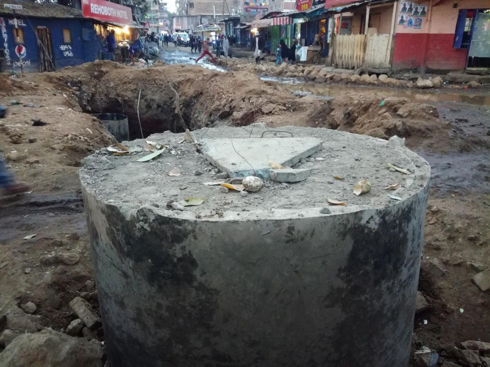 Kiamaiko sewer rehabilitation
