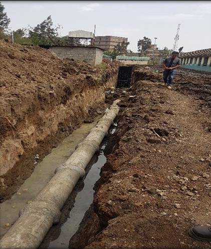 kamunde sewer rehabilitation and upgrade work