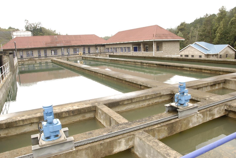 Nairobi water Sasumua Treatment Works