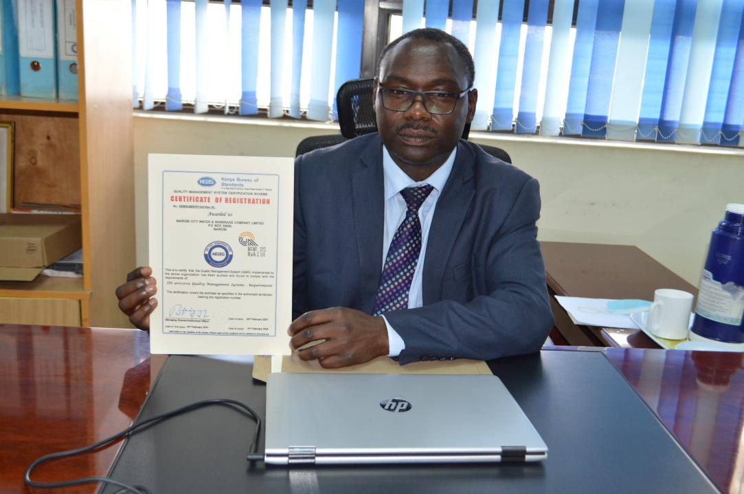 NCWSC ISO CERTIFICATION